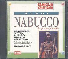 Giuseppe Verdi - Nabucco (Riccardo Muti) Cd Ottimo