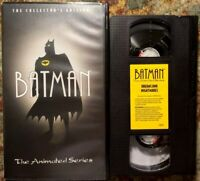 Batman: The Animated Series VHS Dreams & Nightmares Collector Edition Clamshell