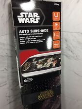 Star Wars Auto Sun Shade Accordion Windshield Cover Universal Fit Park