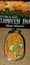 Disney Pin 2019 Madhatter MNSSHP Mickey's Not So Scary Halloween Party  GLOWS