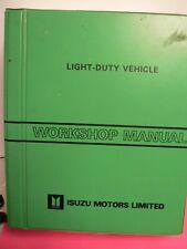 ISUZU Workshop Manual Book Light-Duty Vehicle UBS Series