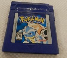 Pokemon Blue Version Nintendo Game Boy Game Original Cart Tested Saves USA