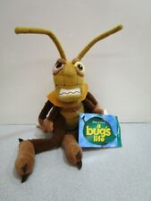 "Disney Store A Bug's Life Hopper Beanie 8"" Bean Bag Plush with Tags"