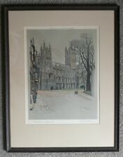 Signed Color Lithograph by Cecil Aldin (1870-1935) - City Street