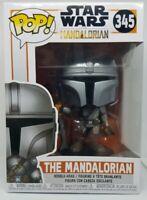 Funko Pop! 345 - Star Wars Mandalorian - The Mandalorian Vinyl Bobble Head