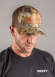 Hoyt Archery Cap - Realtree Hat - ADJ - NEW