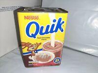 Vtg 1980's Nestle's Quik Bunny Rabbit 16 OZ/1 LB Tin/Container Empty Rare