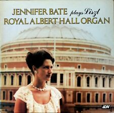 JENNIFER BATE Plays Liszt Royal Albert Hall Organ Vinyl LP EXCELLENT CONDITION