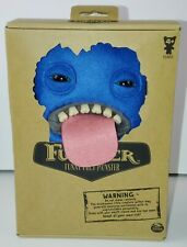 Fuggler Funny Ugly Monster Blue Oogha Boogah Plush Monster With Teeth