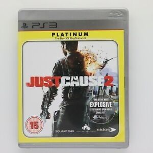 Just Cause 2 Platinum PlayStation 3 PS3 Game
