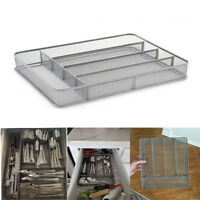 Kitchen Silverware Storage Organizer Tray Utensil Cutlery Flatware Drawer Holder