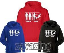 Polycotton Regular Size Hoodies & Sweats for Women