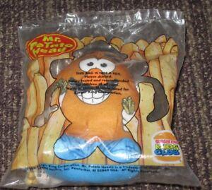 1999 Mr. Potato Head Burger King Toy - Plush