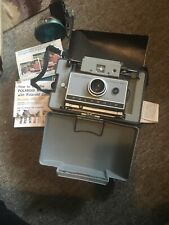 Vintage POLAROID AUTOMATIC 230 LAND CAMERA w/ Manual Etc