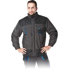 Arbeitsjacke Winter Arbeitskleidung Jacke gefüttert Schwarz Grau Blau Gr. M-XXXL
