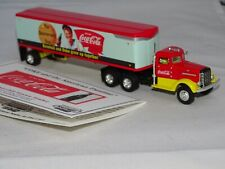 Matchbox Peterbilt Coca Cola trailer   1/87