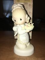 Precious Moments There Is Joy In Serving Jesus 1981 Figurine E-7157
