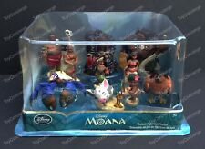 DISNEY Store FIGURE Playset MOANA DELUXE Figurine PLAY SET Cake Topper NEW