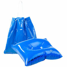 Sitzkissen: 2in1-Strandtasche und aufblasbares Schwimmkissen, 31 x 33 cm