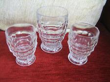 THREE VINTAGE 'JACOBEAN' GLASSES