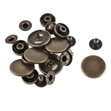 Metal Snap Fasteners Poppers Sewing Press Stud Buttons 20Mm 6Sets S3Y7