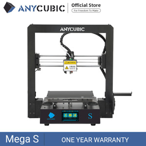 "ANYCUBIC I3 Mega S Aktualisierung FDM 3D Drucker Beheiztes Bett 3.5""TFT PLA TPU"
