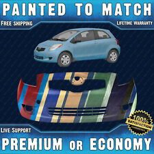 NEW Painted To Match - Front Bumper Replacement for 2006-2008 Toyota Yaris 06-08