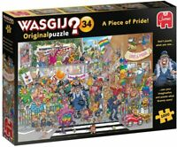 Jumbo Wasgij Original 34 A Piece Of Pride Comic Jigsaw Puzzle 1000 Pieces