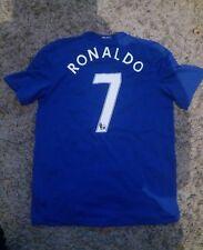 Manchester United Away/3rd Football Shirt Adult Large RONALDO #7 2008/2009