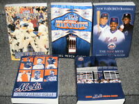 2000-2008 NEW YORK METS OFFICIAL MEDIA GUIDES LOT OF 5 DIFFERENT