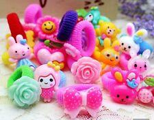 Random-Pick 20pcs Lot Mix Colours Flower Cute Baby Girl Children Hair Pin Clips