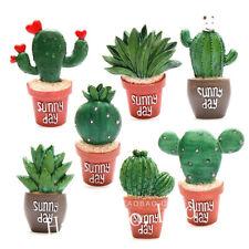 Cute Cactus Resin Removable Fridge Magnet Sticker Home Kitchen Decor