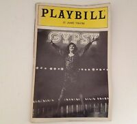 Playbill Gypsy Tyne Daly 1989 St James Theatre Larry Gelbart Broadway Theater