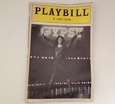 Playbill 1989 Gypsy Tyne Daly St James Theatre Larry Gelbart Broadway Theater