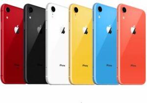 Apple iPhone XR 64GB 4G LTE (Factory Unlocked) T-Mobile AT&T Verizon Good
