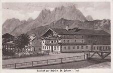 72477/63- Gasthof zur Brücke St. Johann Bezirk Kitzbühel Tirol 1931
