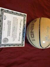 Rare Authentic Hand Signed Kobe Bryant Basketball Autographed Black Mamba Coa