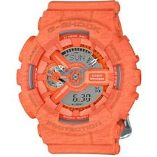 Casio G Shock * GMAS110HT-4A S Series Gshock Heathered Orange COD PayPal
