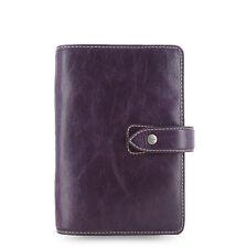 Filofax Personal Size Malden Organiser Planner Diary Purple Leather 025850 Gift