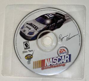 NASCAR Sim Racing PC CD ROM 2005 DISC Two ONLY!! Ryan Newman