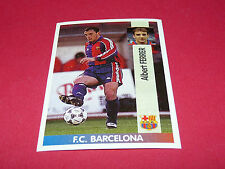 ALBERT FERRER FC BARCELONA PANINI LIGA 96-97 ESPANA 1996-1997 FOOTBALL