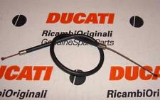 """Vintage Ducati upper choke or throttle cable 29"""" long tip-tip 3.375"""" exposed  #P"""