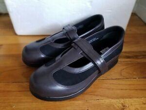 Drew Desiree Women's Size 10 Width Wide Walking Shoes Brown/Black [NEW]