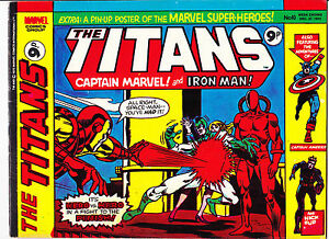 """The Titans No.10  : 1975 :   : """"Trapped...By Magneto!"""" :"""