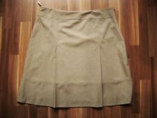 @ Selection by S.Oliver @ Skirt Business Light Brown Pleats gr. 46 GB 20 Size