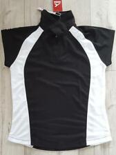 Akoa Black & White Girls Secto Polo Shirt 14 Years / XS New With Tag #55