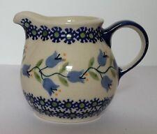 Bunzlauer Keramik Milchkännchen, Sahnekännchen, Krug; 0,2Liter, (D019-ASD)
