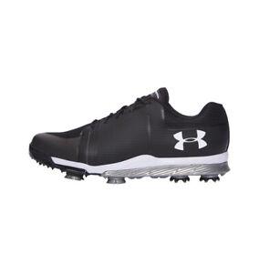 Men's UA Tempo Sport Golf Shoes 1288576-001 Black