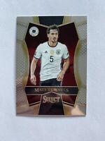 2016-17 Panini Select Soccer Mats Hummels Germany Mezzanine Card #141