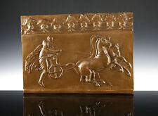 Großes Relief Pelops & Hippodameia Museumsreplik Stuck Griechenland Mythologie